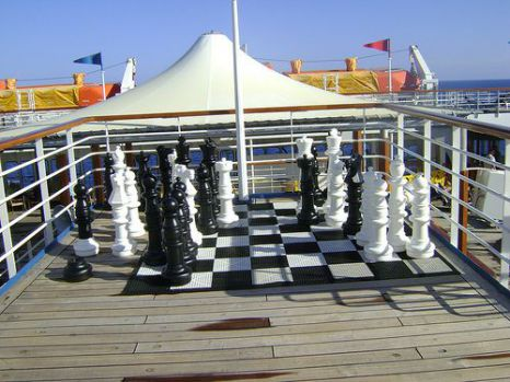 Giant Chess Game Rental Las Vegas