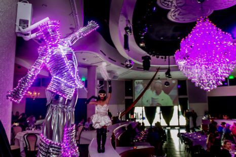 LED Stilt Walker Great For Events