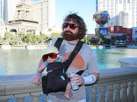Zach with Moving Baby